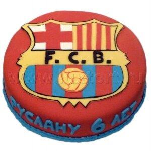 Торт Логотип  Барселона
