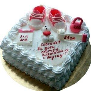 Торт сливочный Первые мерки